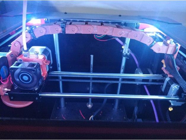 Como construir una cadena para la impresora 4Max – Primera parte
