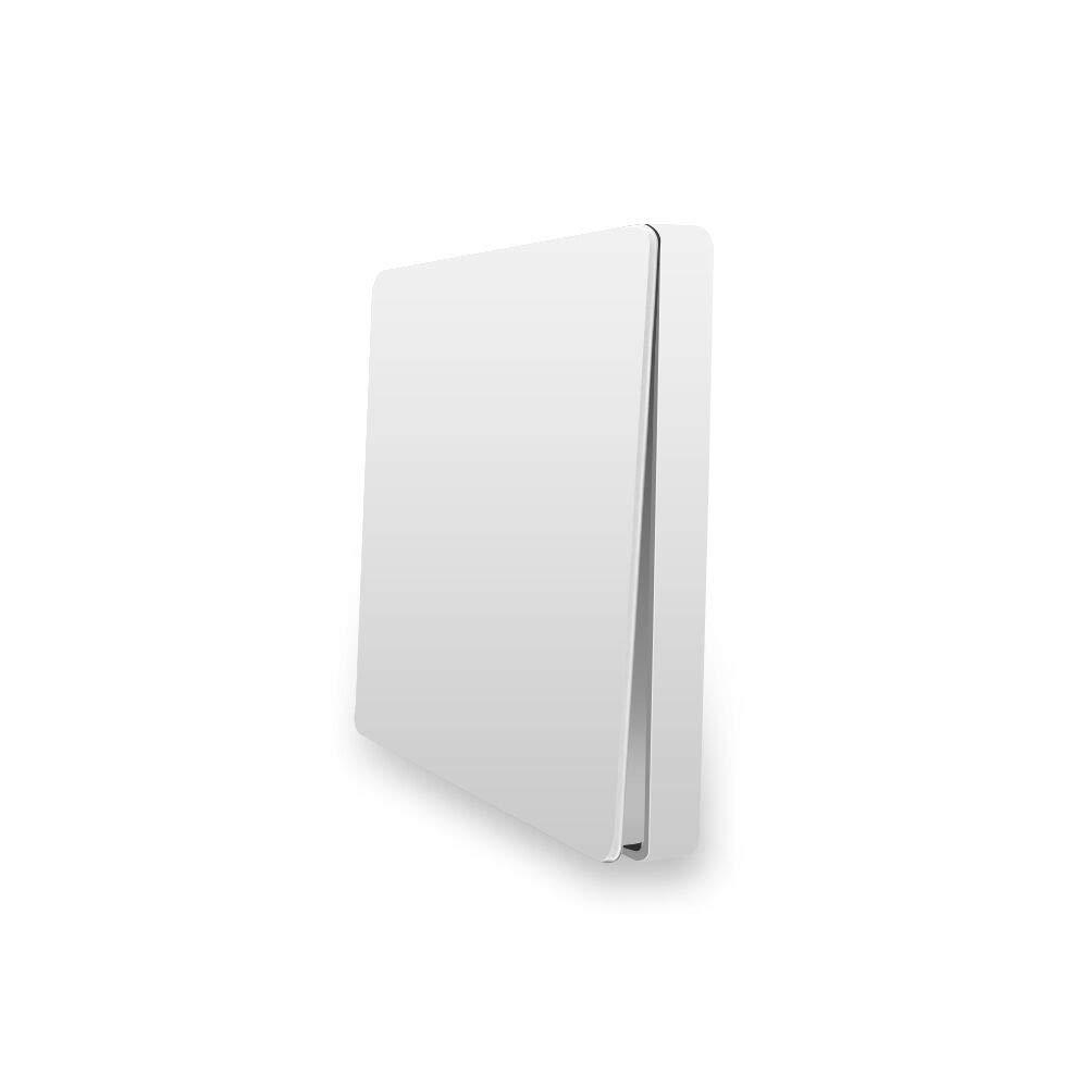 Interruptor WiFi,para Xiaomi Aqara Interruptor Tactil Sensor Interruptores Inalambricos Inteligente para Hogar, Compatible con Android y la Aplicación iOS para Smart Home (Solo botón)