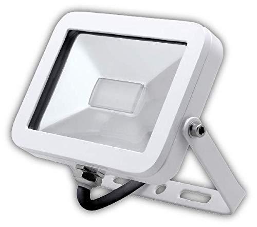 Garza Foco LED Exterior E27, 10W, 4.000 K. Foco Proyector ISPOT Iluminación jardín