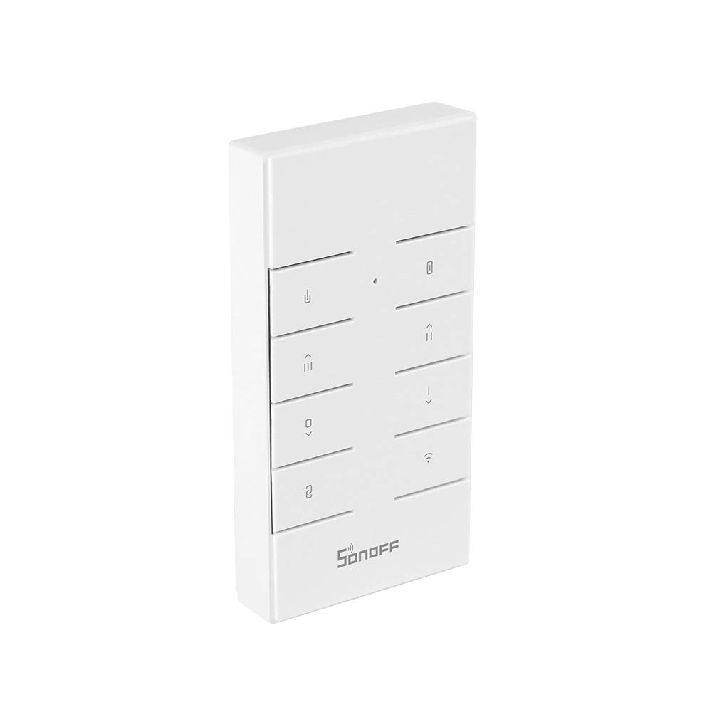 OWSOO SONOFF Control Remoto 433MHz 8 Teclas con Usos Múltiples para SONOFF Basicrf/Slampher/ iFan03/ 4CHProR2/ TX Series/ 433 RF Bridge