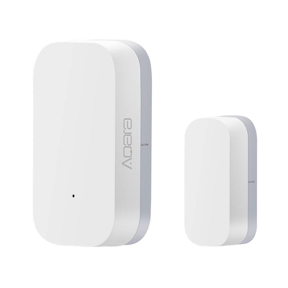 para Xiaomi Aqara Smart Door And Window Sensor - Sensor inalámbrico de contacto, Puerta WiFi y sensores de ventana Imanes Timbre de puerta de seguridad Alarma de campana abierta