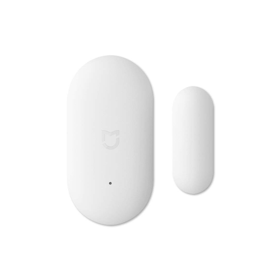 Oupeng para Aqara Smart Wireless Door Window Sensor Home Alarma de Seguridad Diaria (Blanco)