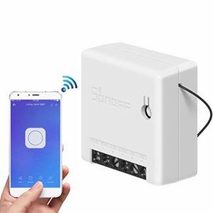 Sonoff MINI Smart Switch, control remoto inalámbrico, control automático programado, funciona con IFTTT