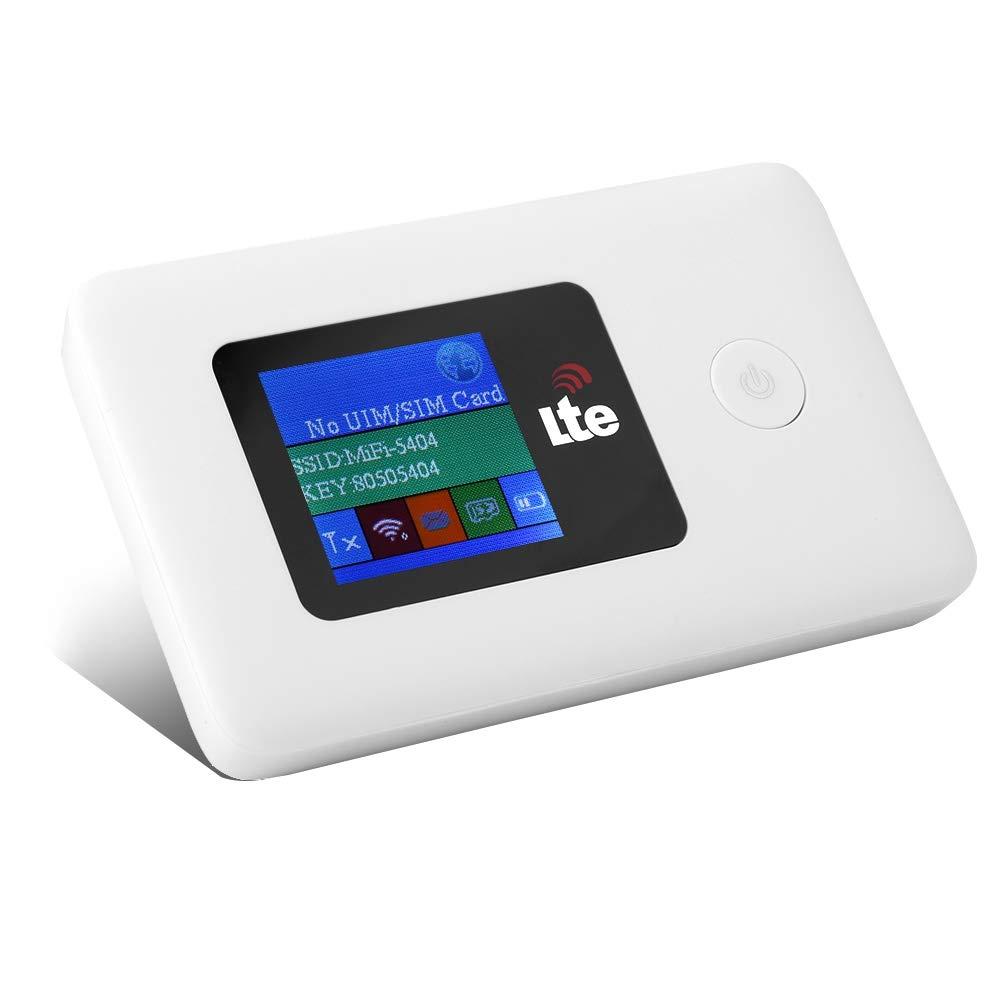 Bewinner Mini Wi-Fi portátil para Viajes, LR113D 10/100 / 1000Mbps 150Mbps 4G WiFi Router móvil inalámbrico Hotspot 4G LTE MiFi