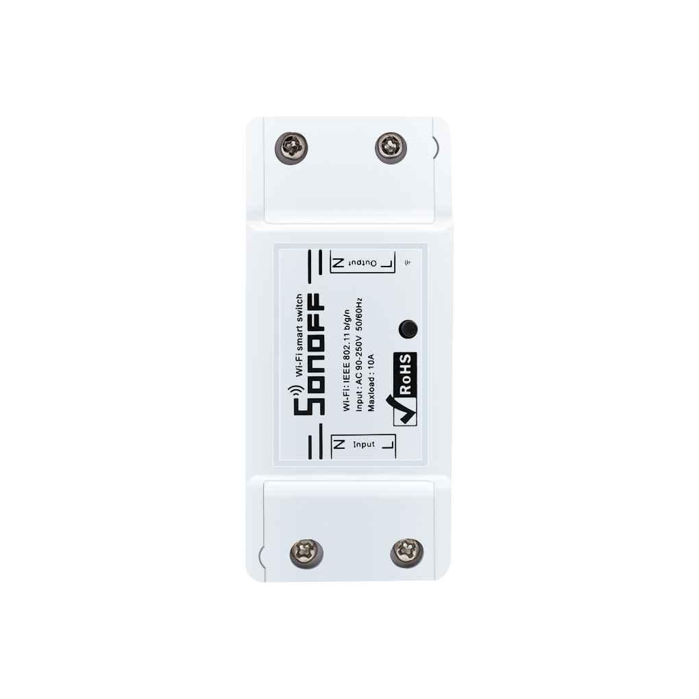 Elenxs Sonoff Basic Interruptor Inalámbrico WiFi App Control Módulo de Automatización del Hogar Temporizador Interruptor Inteligente