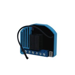Qubino Roller Shutter Insert with Energy Meter, 2000W - Azul