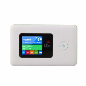 2000mAh Batería de gran capacidad 150M 4G banda B1 3 7 20 Conveniente Rápido Inteligente Inalámbrico Mifi Router Viaje Portátil Móvil Wi-Fi Hotspot Soporte Linux / Windows / ANDROID / Mac OS sistema