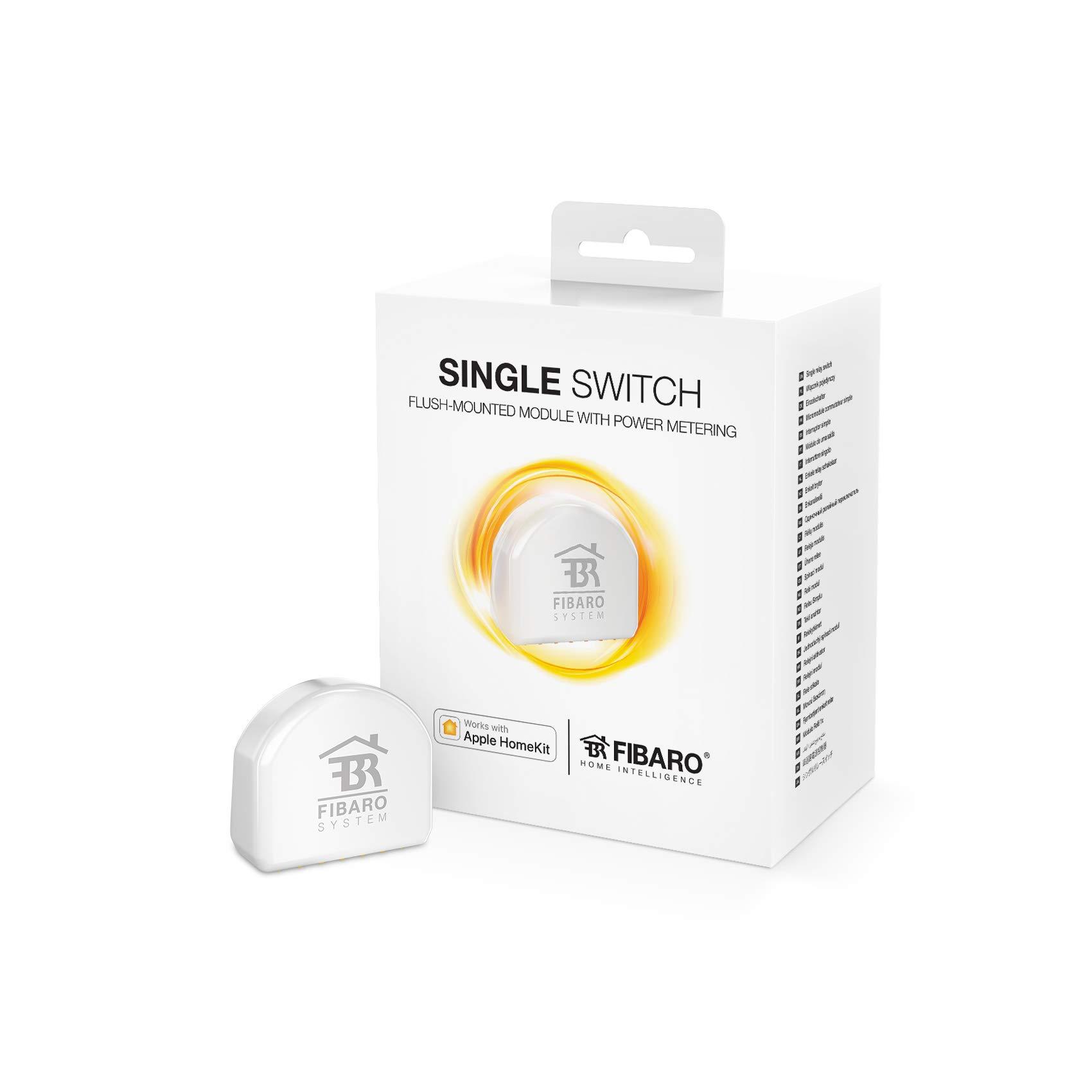 Fibaro FGBHS-213 regulador Inteligente de luz Inalámbrico Blanco - Reguladores Inteligentes de luz (Inalámbrico, Bluetooth, Blanco, Pared, 2400 MHz, Botones)