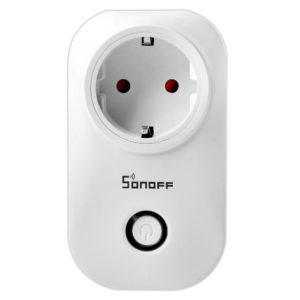 Sonoff S20 (Versión de Actualización) WIFI Enchufe Inteligente Inalámbrico Interruptor con Control Remoto y Temporizador para Amazon Echo, Echo Dot, Amazon Tap, Google Nest + Agarre de dedo